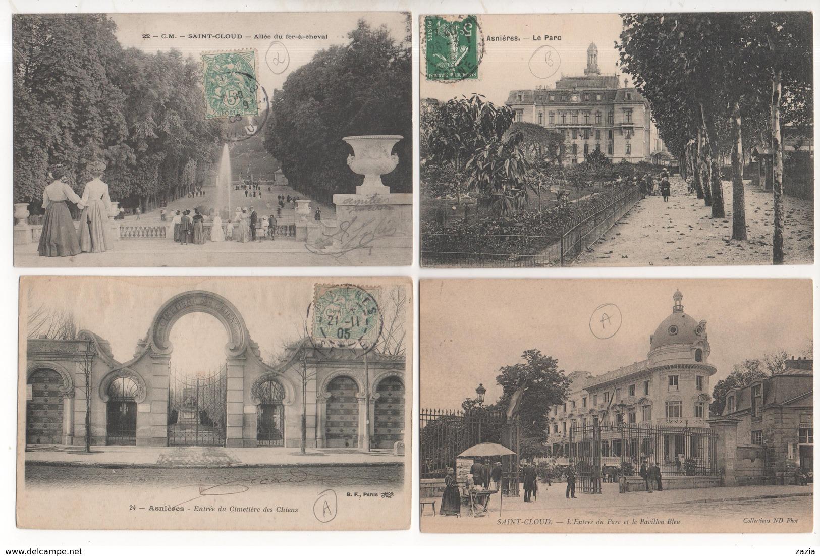 LD92 / Lot D'environ 510 Cpa,cpsm Et Cpm Des HAUTS DE SEINE  ( Voir Déscriptif) - Cartes Postales