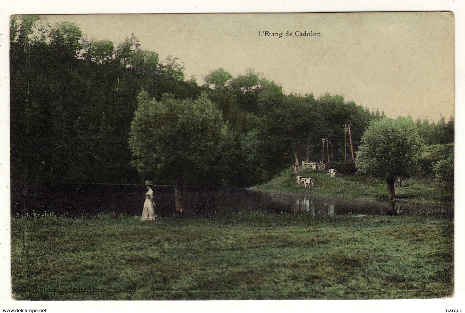 Cpa L ' Etang De Cadolon - Autres Communes