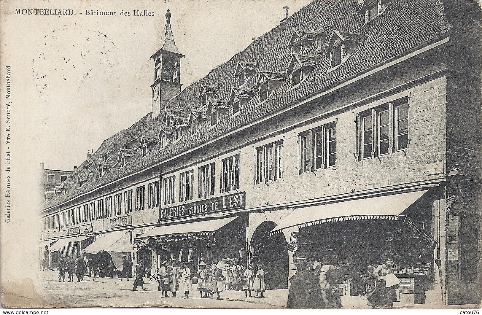 25 Montbéliard Bâtiment Des Halles - Montbéliard