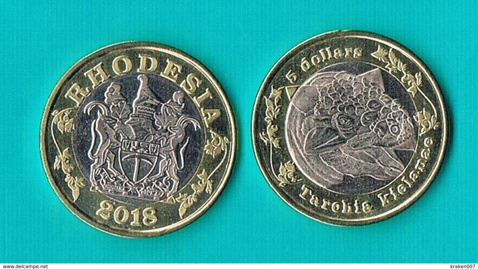 Rhodesia 5 Dollars 2018 - Bimetal - Monnaies