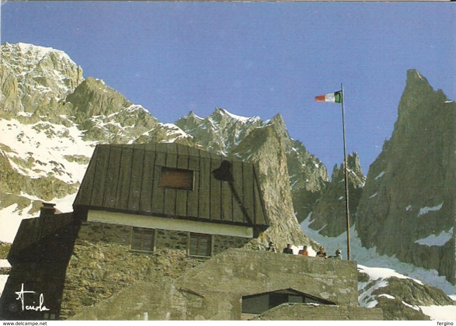 379/FG/19 - ALPINISMO - CHATELET (COURMAYEUR): Rifugio Franco Monzino - Altre Città