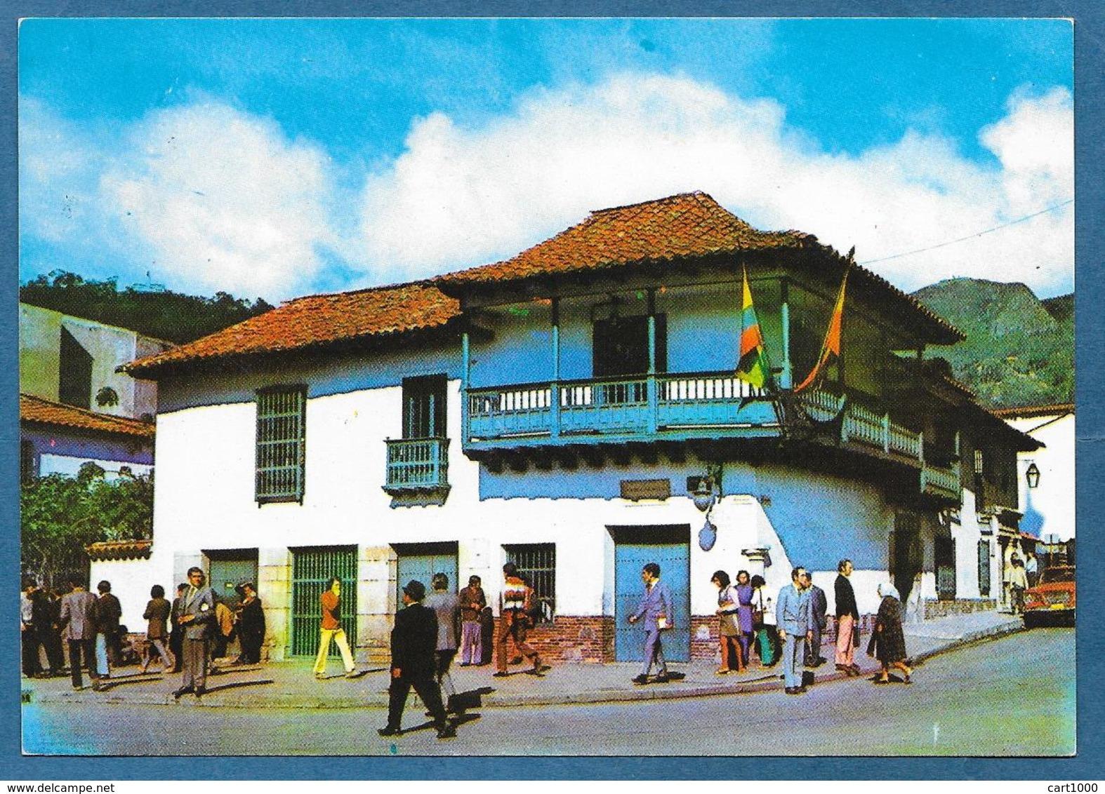 COLOMBIA BOGOTA' CASA MUSEO 20 DE JULIO DE 1810 UNUSED - Colombia