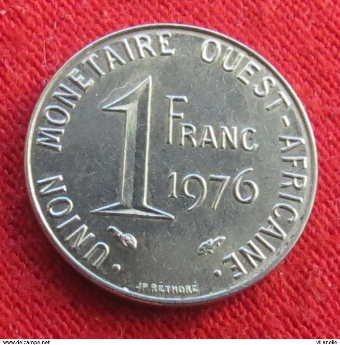West African States 1 Franc 1976  Africa Afrika Afrique Wºº - Autres – Afrique
