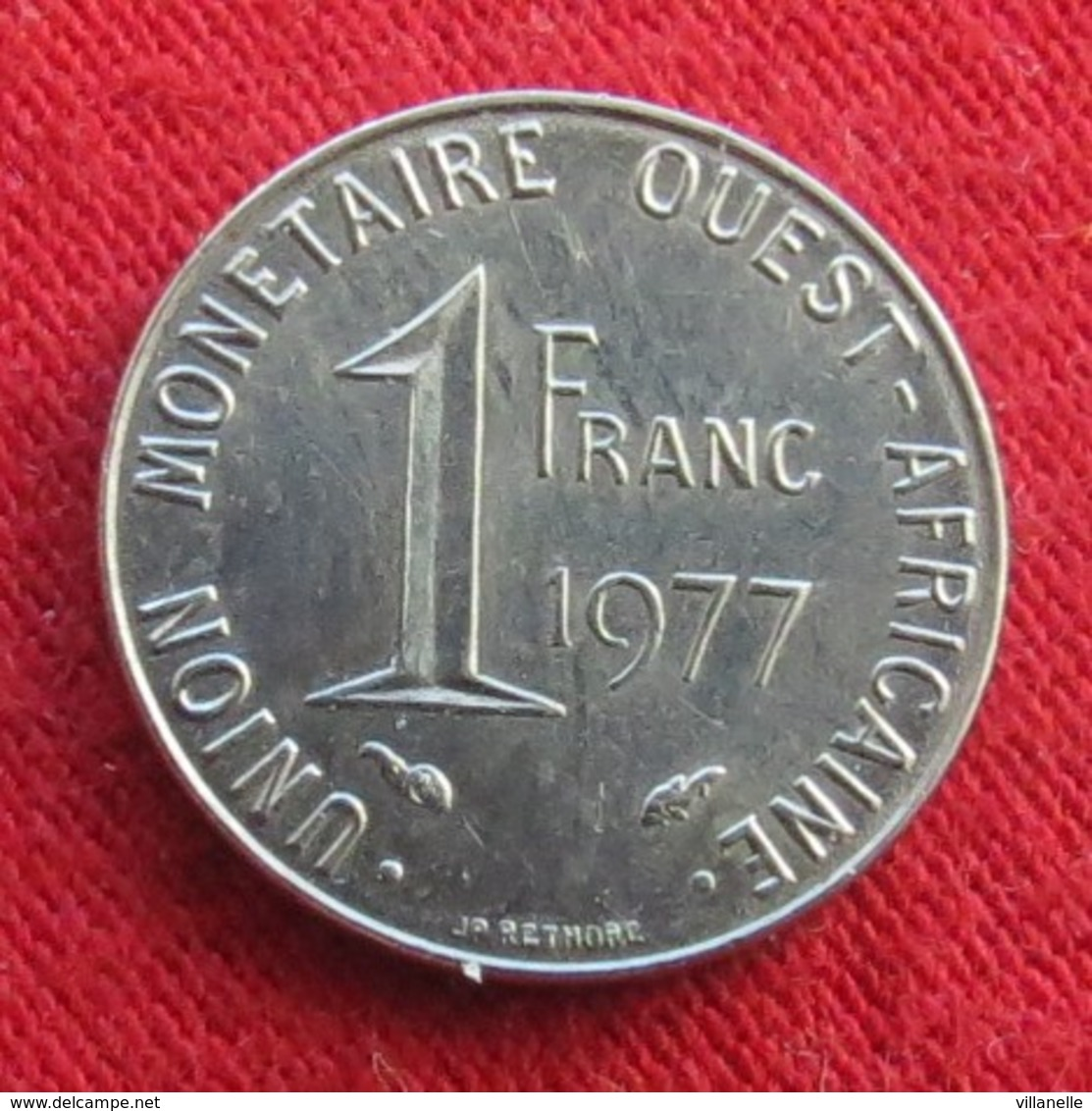 West African States 1 Franc 1977  Africa Afrika Afrique Wºº - Autres – Afrique