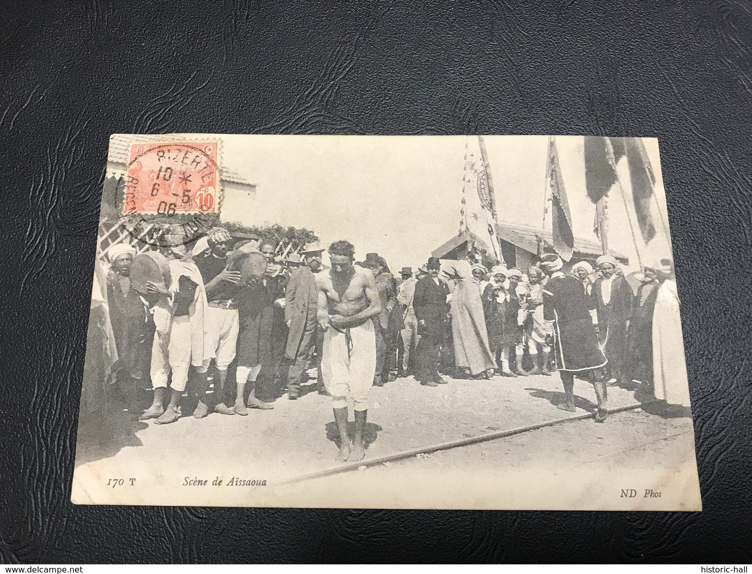 170 T - Scene De Aissaoua - 1906 Timbrée - Maroc