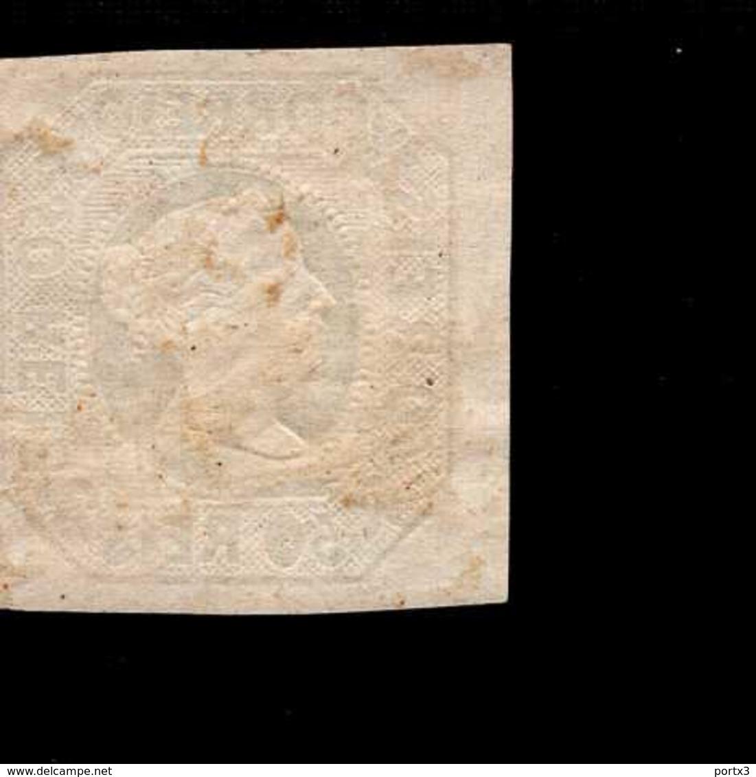 Portugal 03 A Königin Maria II Used  Gestempelt (2) - 1853 : D.Maria