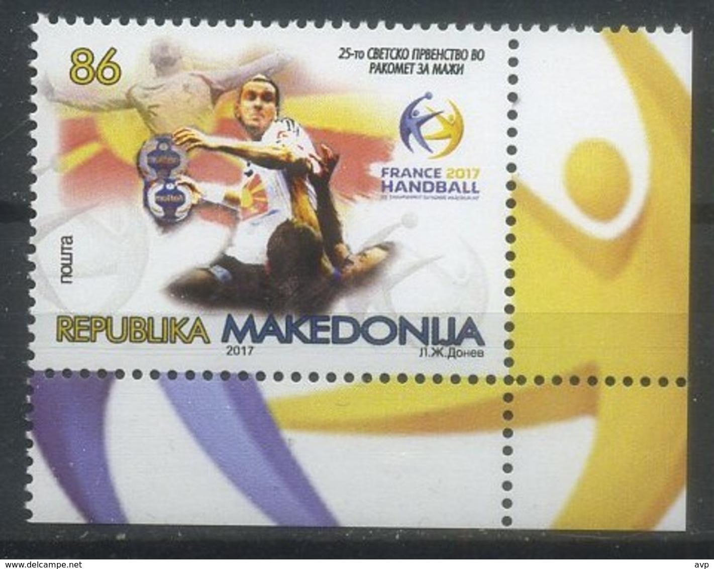 Macedonia 2017 Sport, Handball - Balonmano
