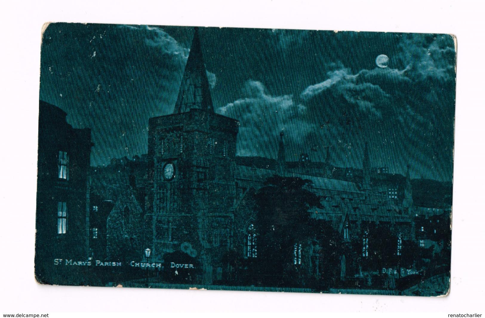 St-Marys Parish Church.Dover.Expédié De Chaumont (Haute-Marne/FRance) à Forcey (Haute-Marne) - Dover