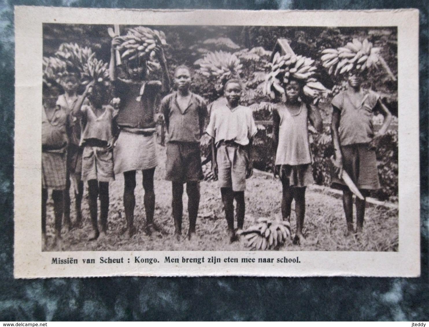 Oude Kaart  Misieen Van Scheut  KONGO - Congo Belge - Autres