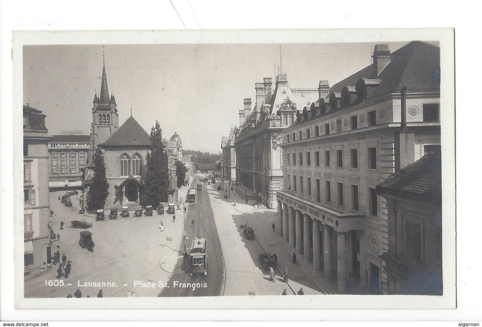 21313 - Lausanne Place St. François  Tram - VD Vaud
