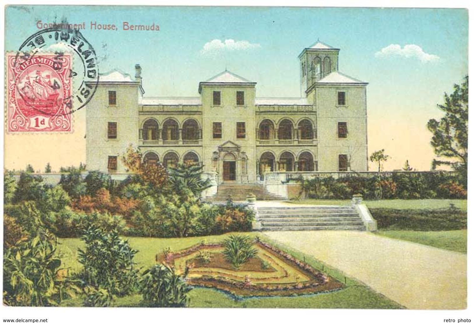 Cpa Antilles - Bermuda / Bermudes - Government House - Bermudes