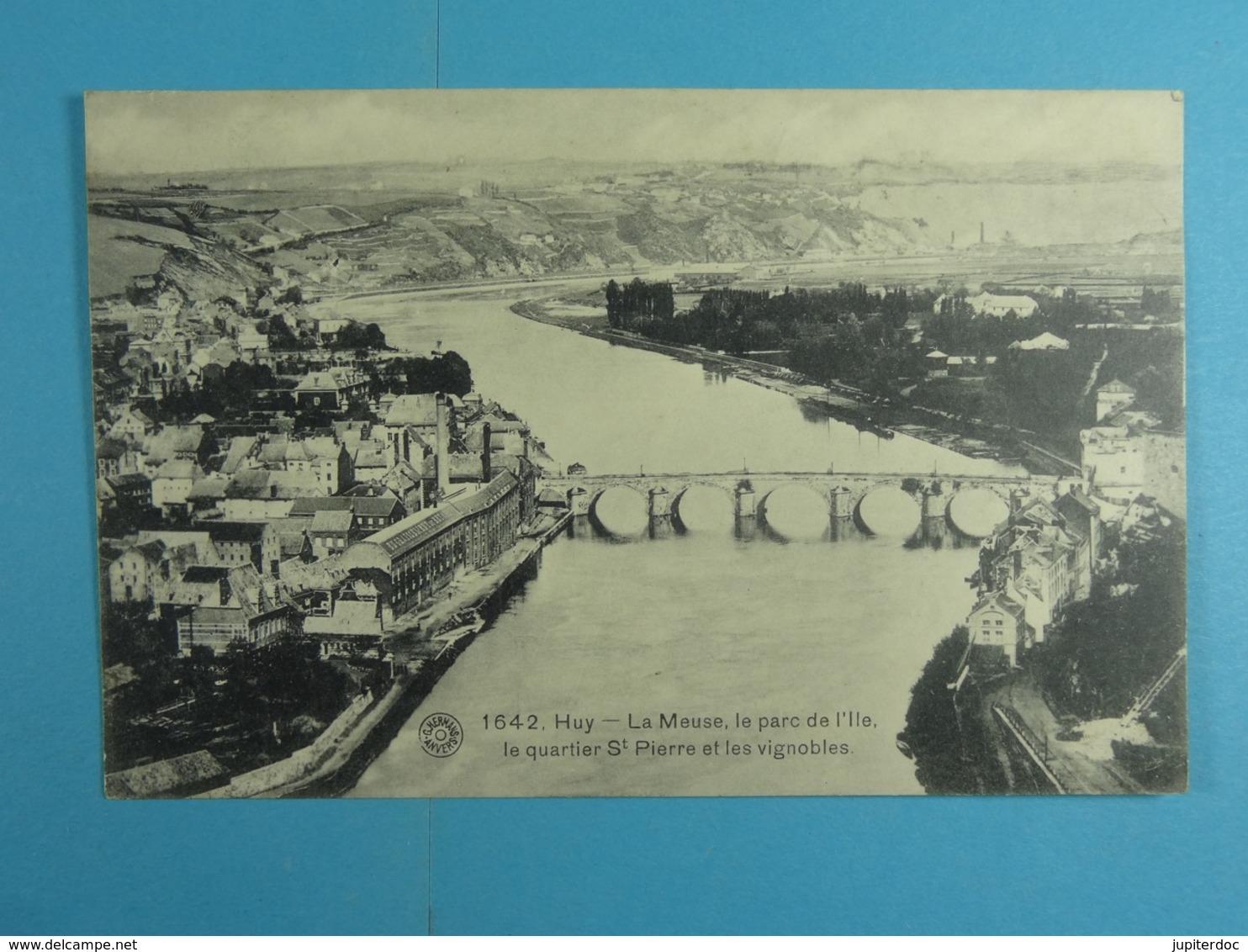 Huy La Meuse, Le Parc De L'île Le Quartier St-Pierre Et Les Vignobles - Huy