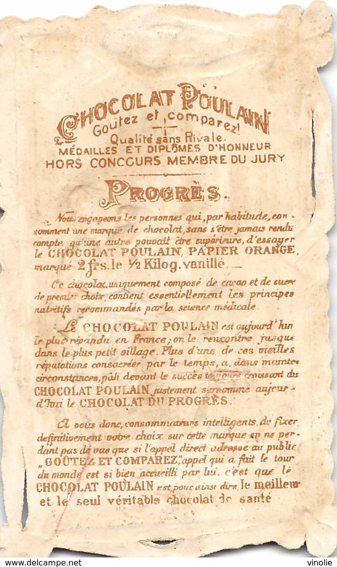 FRP-19-352 :  CHOCOLAT POULAIN.  LE TAILLEUR. COUTURE. CISEAUX. - Poulain