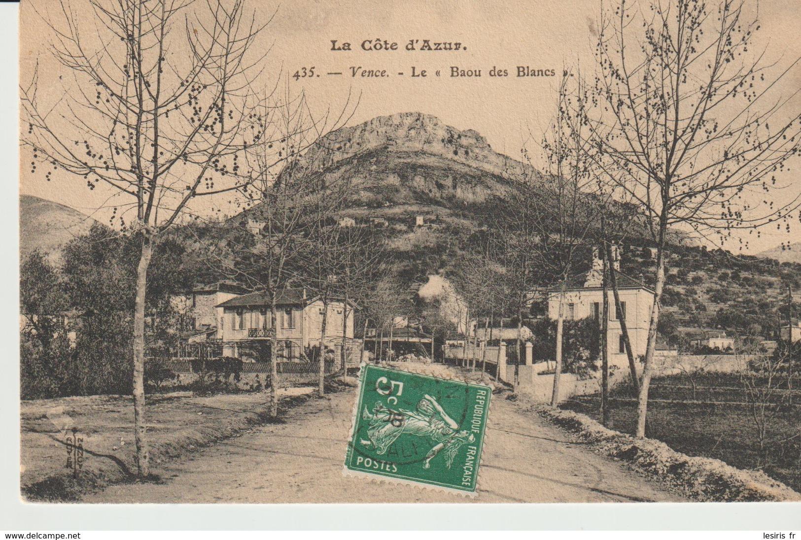 CPA - VENCE - LE BAOU DES BLANCS - 435 - - Vence