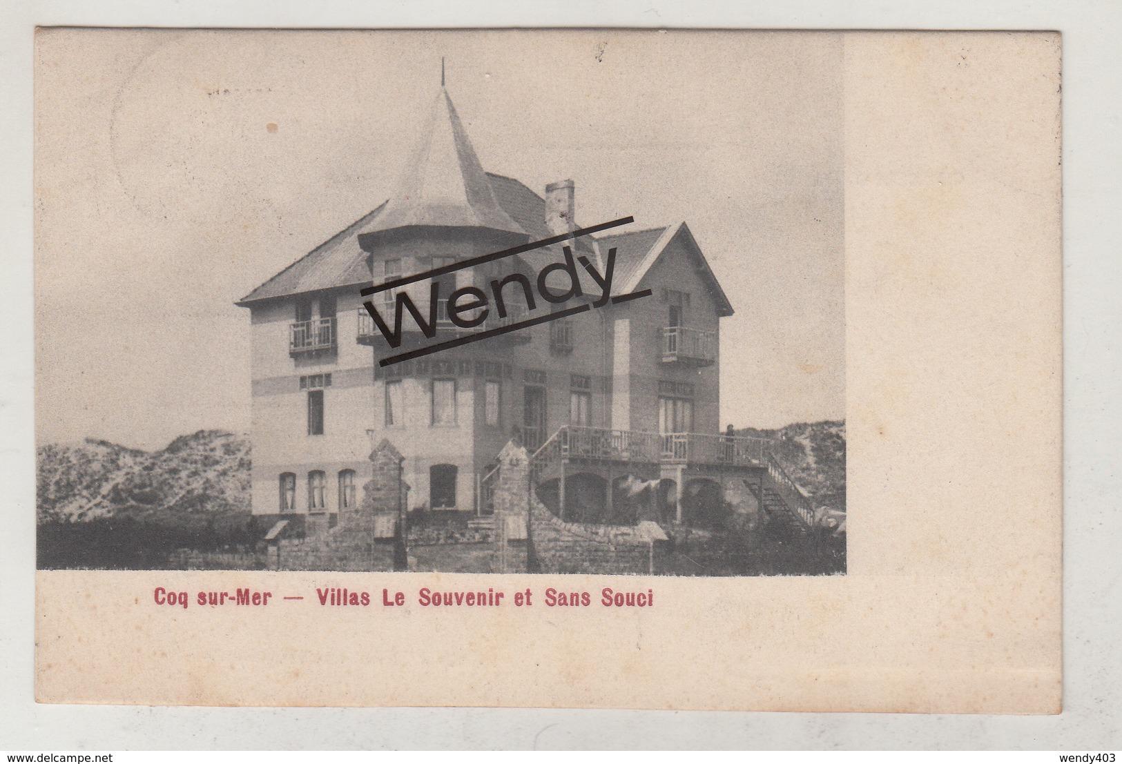 Coq S/mer (villas Le Souvenir Et Sans Souci) - De Haan