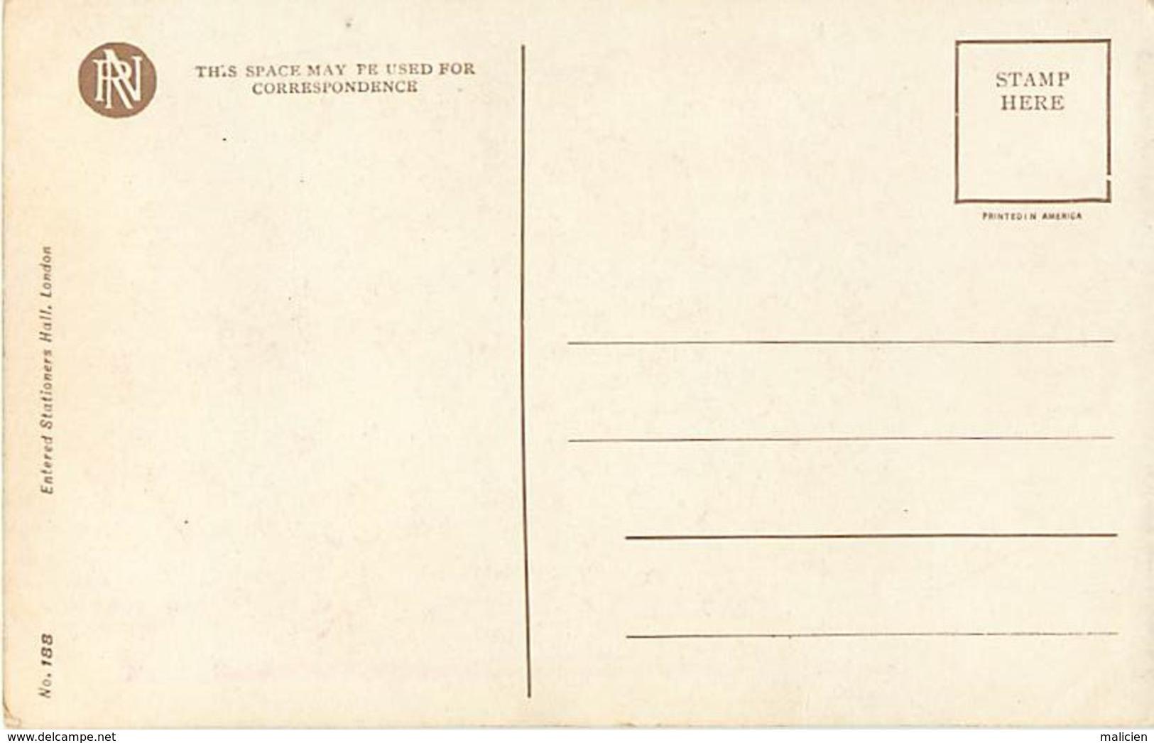 -ref-B46- Illustrateurs - Illustrateur - The Wedding - Le Mariage - Mariés - N° 188 - Couples - Carte Bon Etat - - 1900-1949