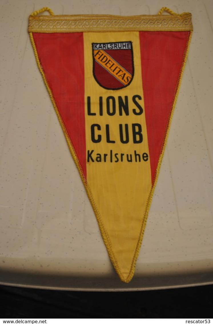 Rare Fanion Lion's Club Karlsruhe - Organizaciones