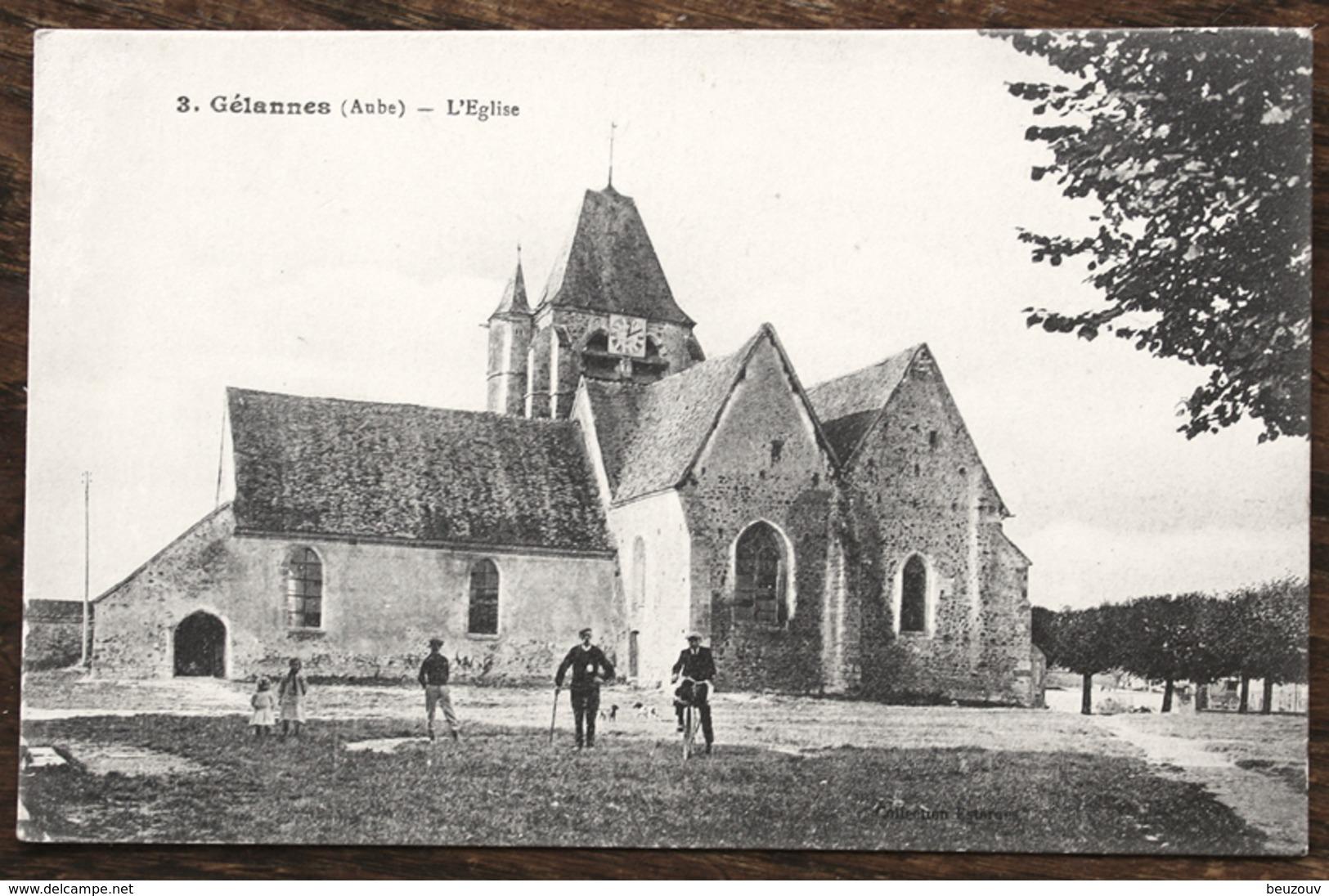 CP GÉLANNES L'Eglise - France