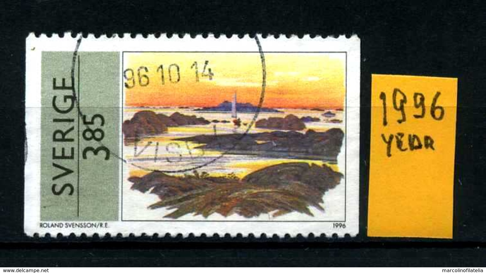 SVEZIA - SVERIGE - Year 1996 - Usato - Used - Utilisè - Gebraucht.- - Zweden