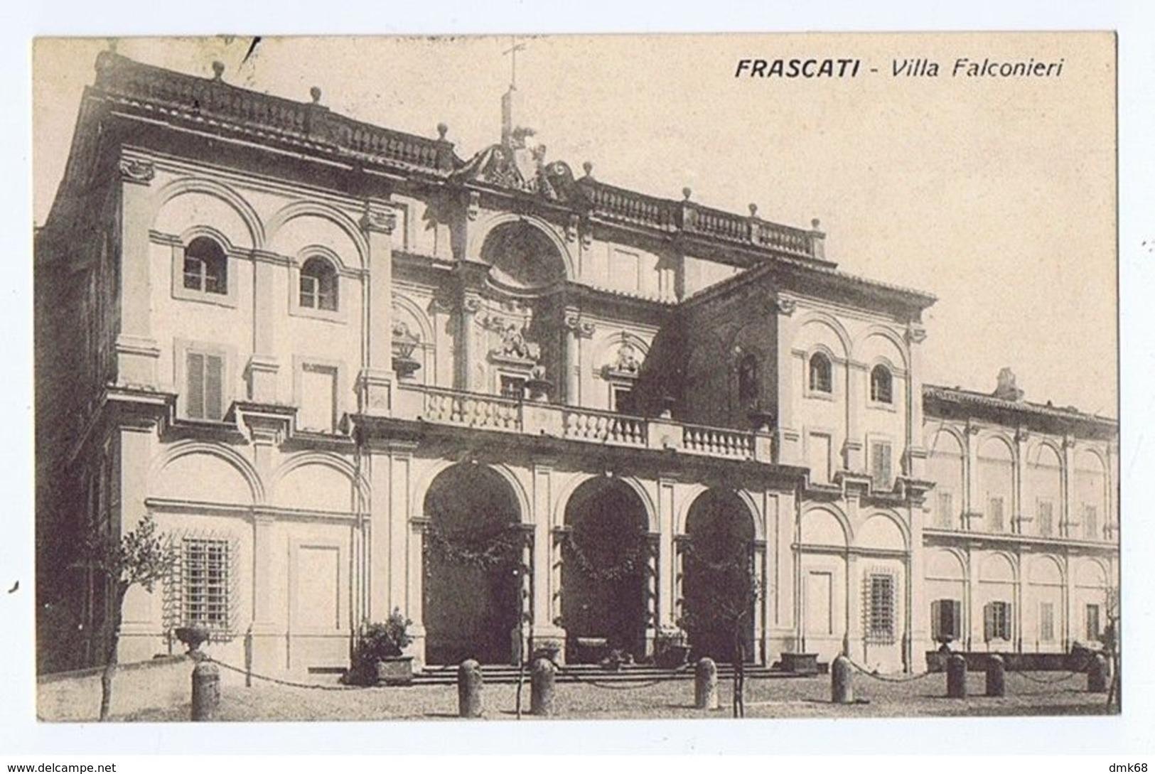 FRASCATI - VILLA FALCONIERI - 1914 (3022) - Italia