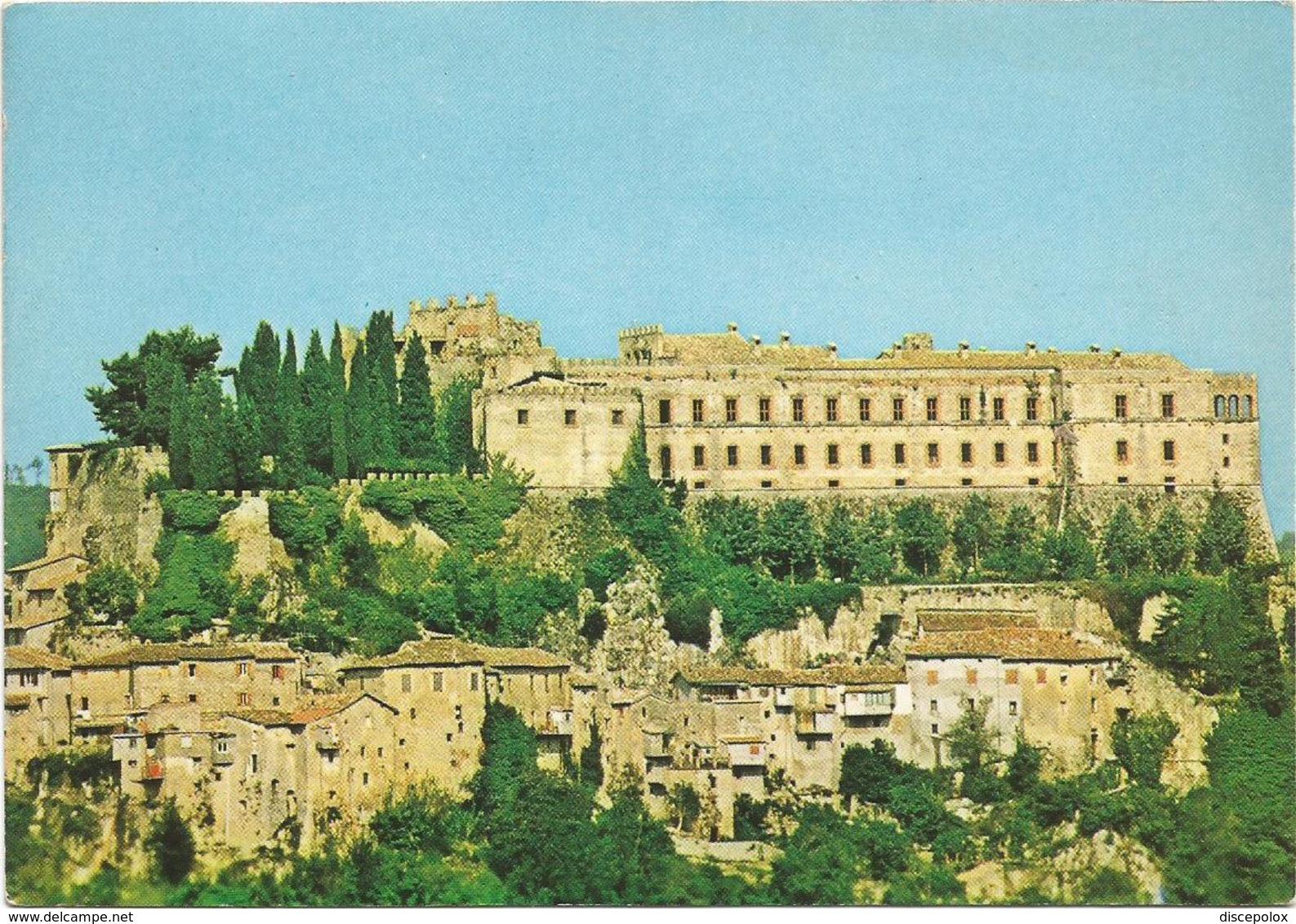 V3606 Rocca Sinibalda (Rieti) - Panorama Col Castello - Castle Chateau Schloss Castillo / Non Viaggiata - Italia