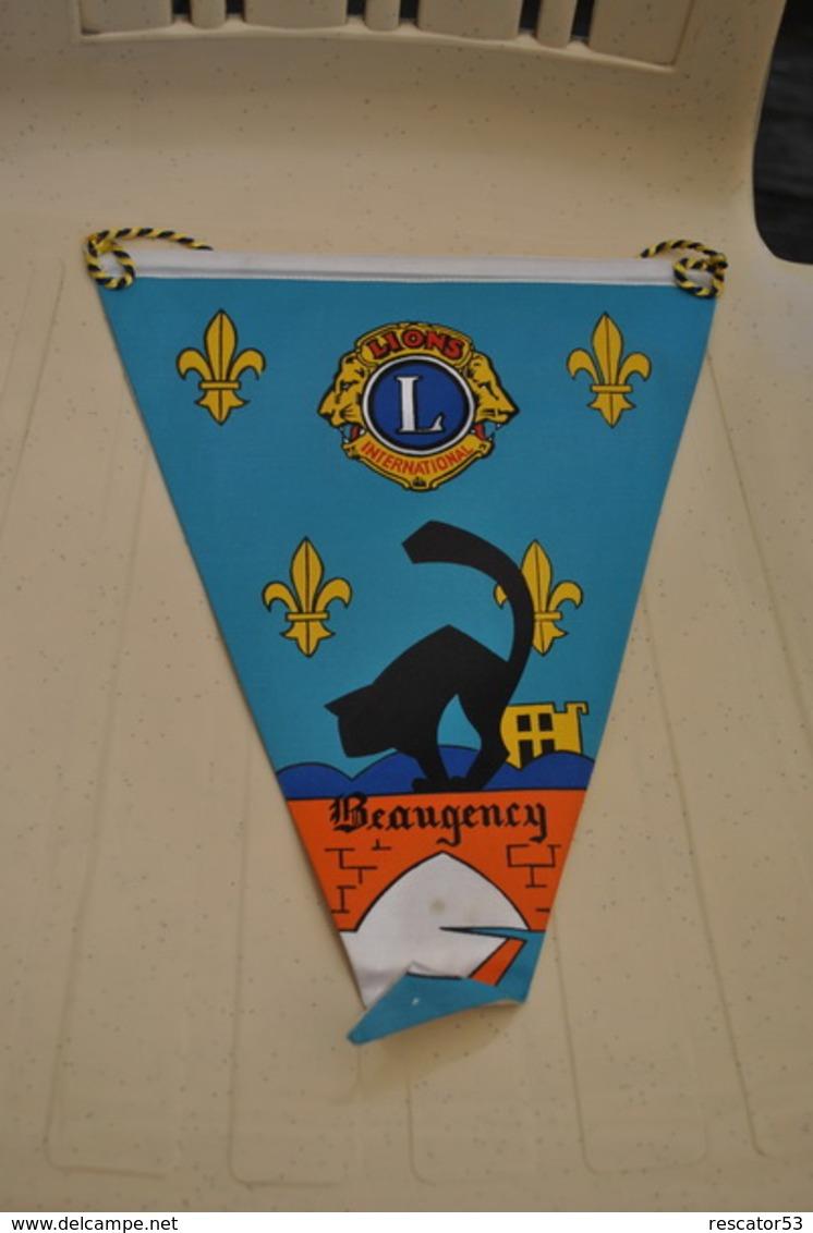 Rare Fanion Lion's Club Beaugency - Organizaciones