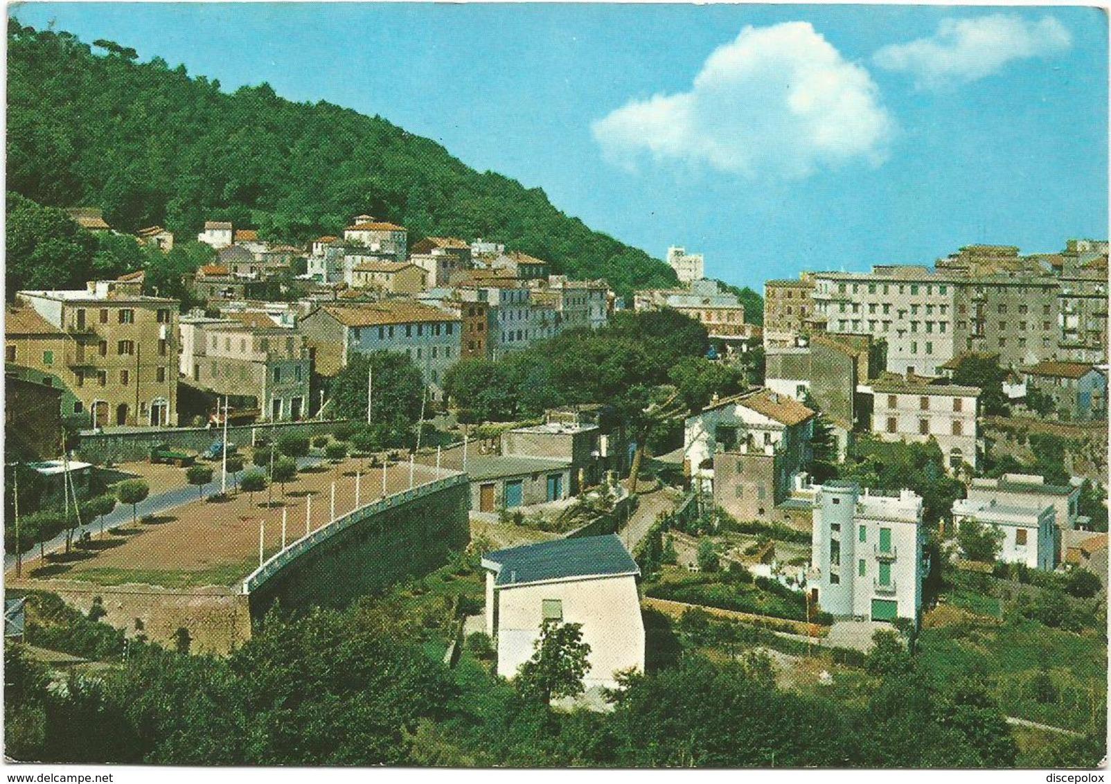V3612 Monte Compatri (Roma)  Panorama E Passeggiata / Viaggiata 1966 - Italia