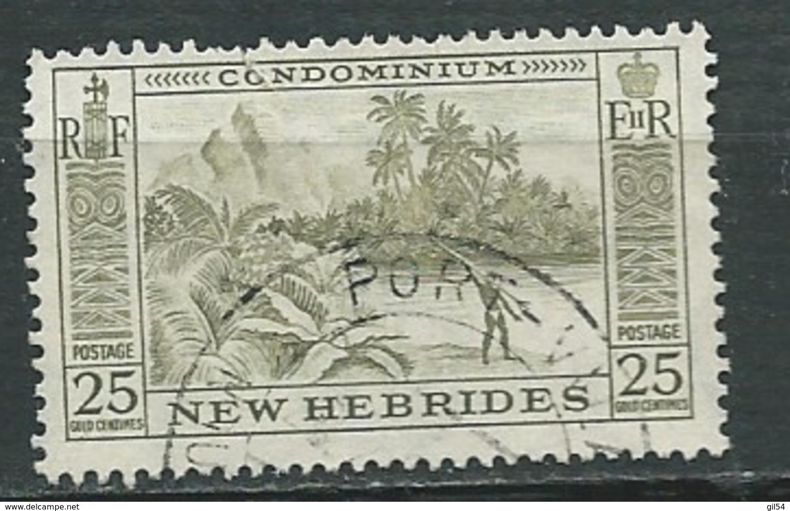 Nouvelles Hébrides - Yvert N° 159   Oblitéré   -  Abc 29711 - English Legend