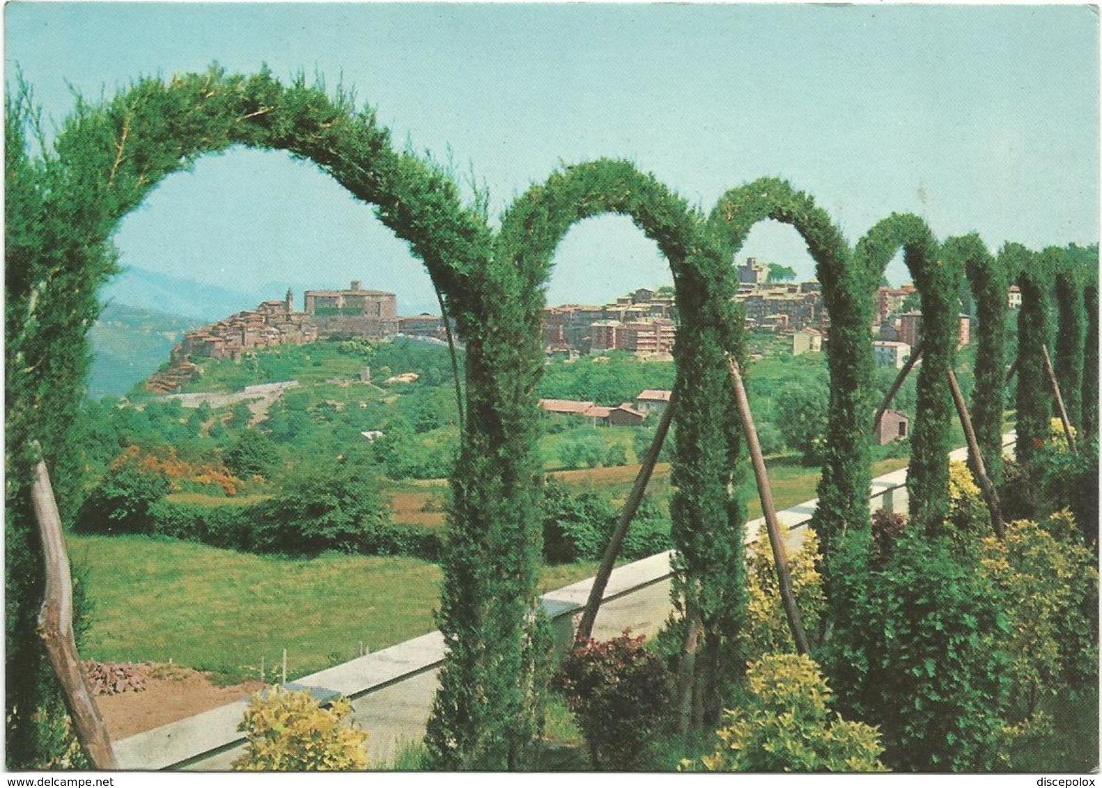 V3619 San Vito Romano (Roma) - Panorama / Viaggiata 1976 - Altre Città