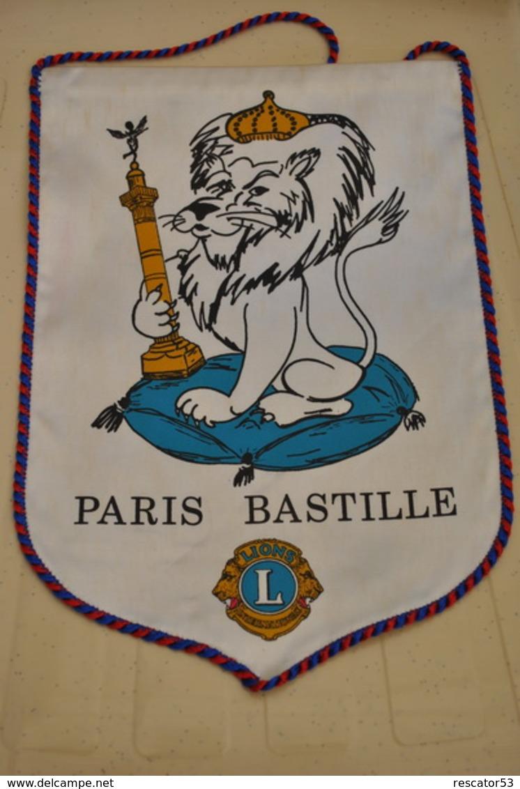 Rare Fanion Lion's Club Paris Bastille - Organizaciones