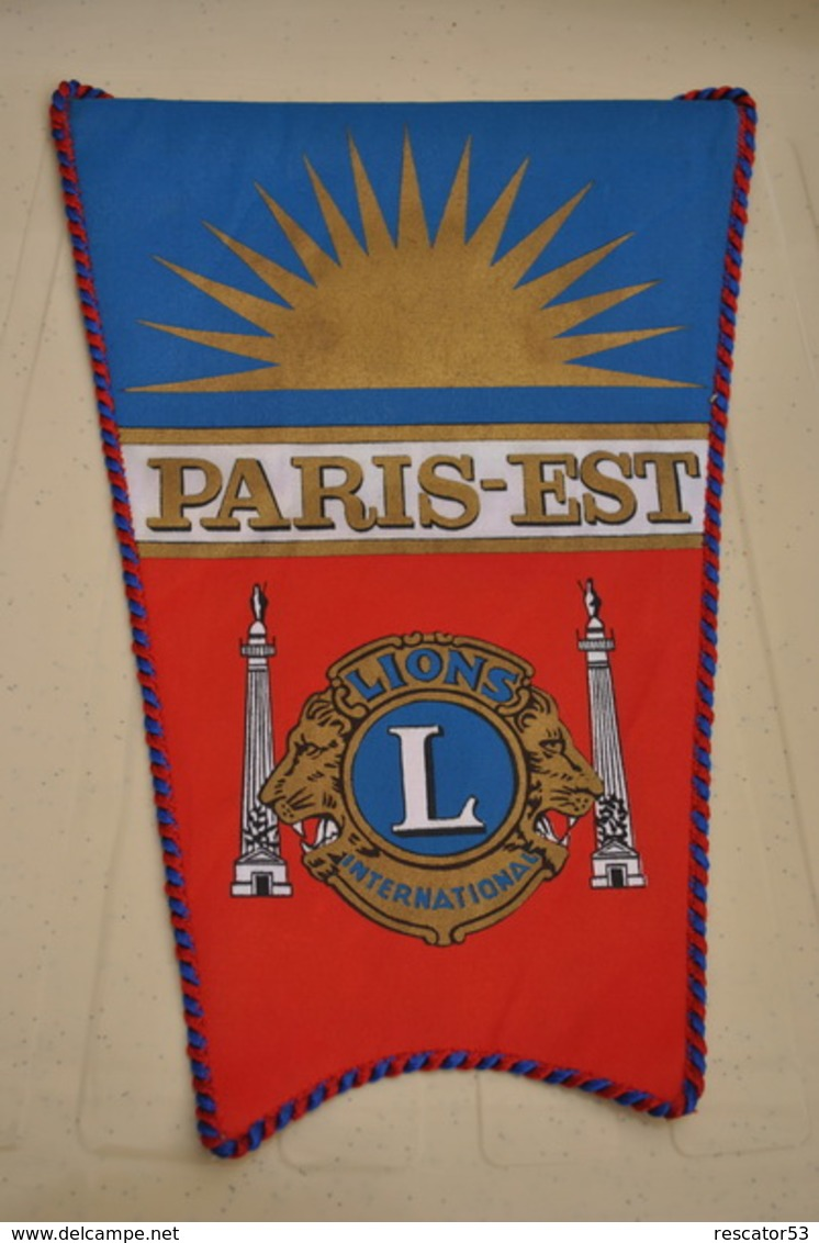 Rare Fanion Lion's Club Paris-Est - Organizaciones
