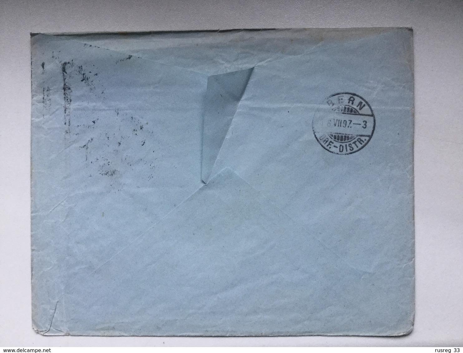 K6 Russia Russie 1897 Drucksache Von Kiew Nach Bern - Briefe U. Dokumente