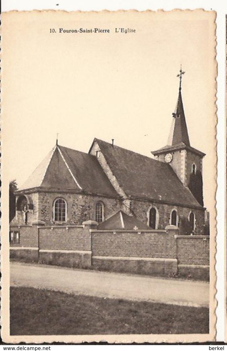 FOURON- SAINT PIERRE L 'église  Edit:  SAFIMI  Tel 971246  R  6/148   /d2 VOEREN - Fourons - Voeren