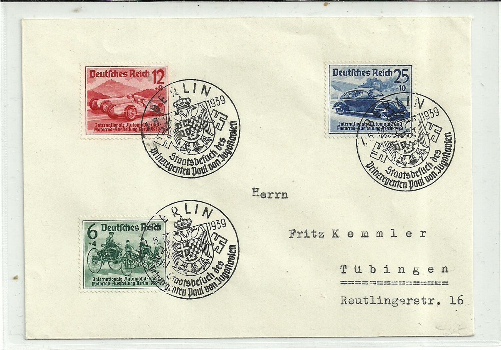 Satzbrief IAA BERLIN 1939 - Deutschland