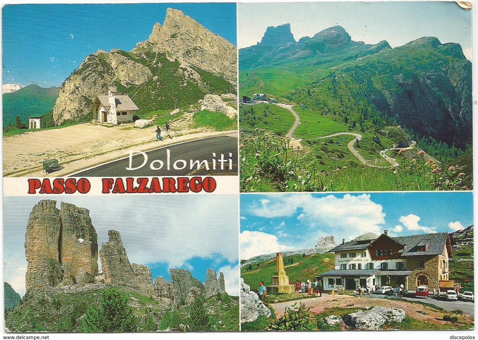 V3648 Passo Falzarego (Belluno) - Panorama Vedute Multipla / Viaggiata 1993 - Italia