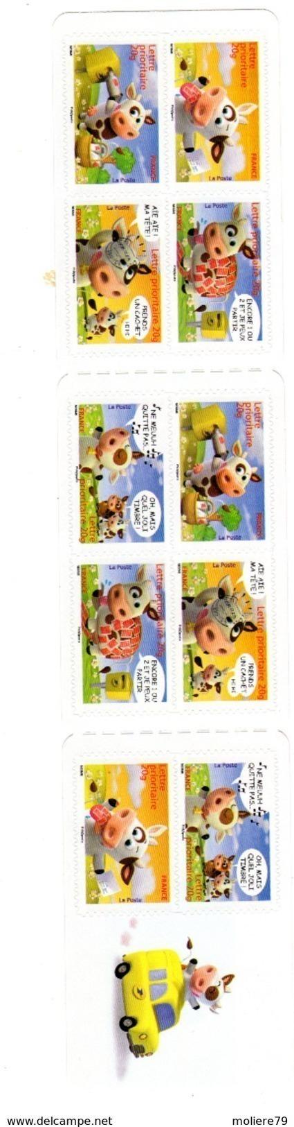Carnet N° BC134, De 2007 Neuf Et Non Plié, Lettre Prioritaire 10 Timbres , - Carnets
