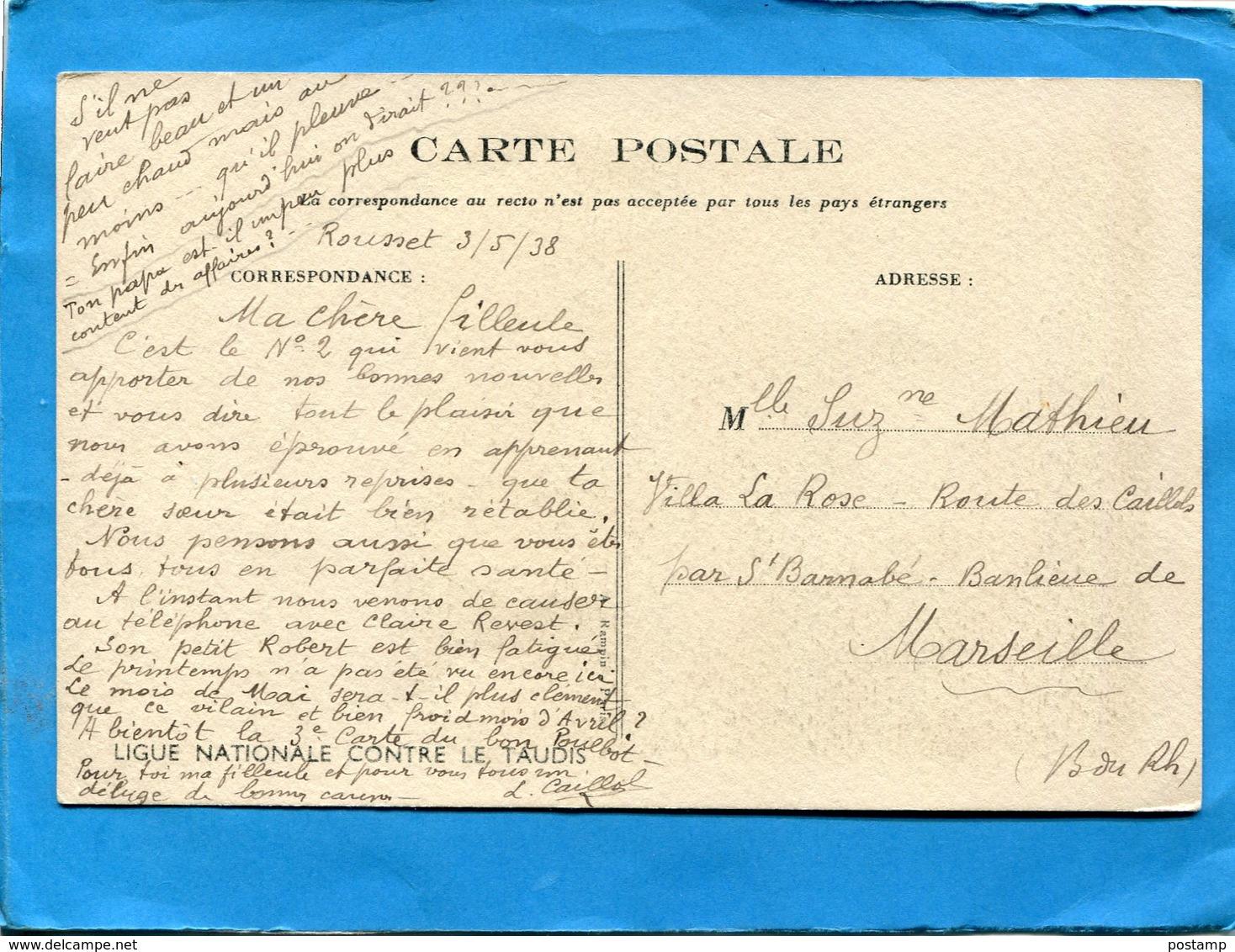 """POULBOT-illustrateur-enfants -""""t'as  Peur Des Araignées...... Ligue Contre Le Taudis A Voyagé En 1938 - Poulbot, F."""