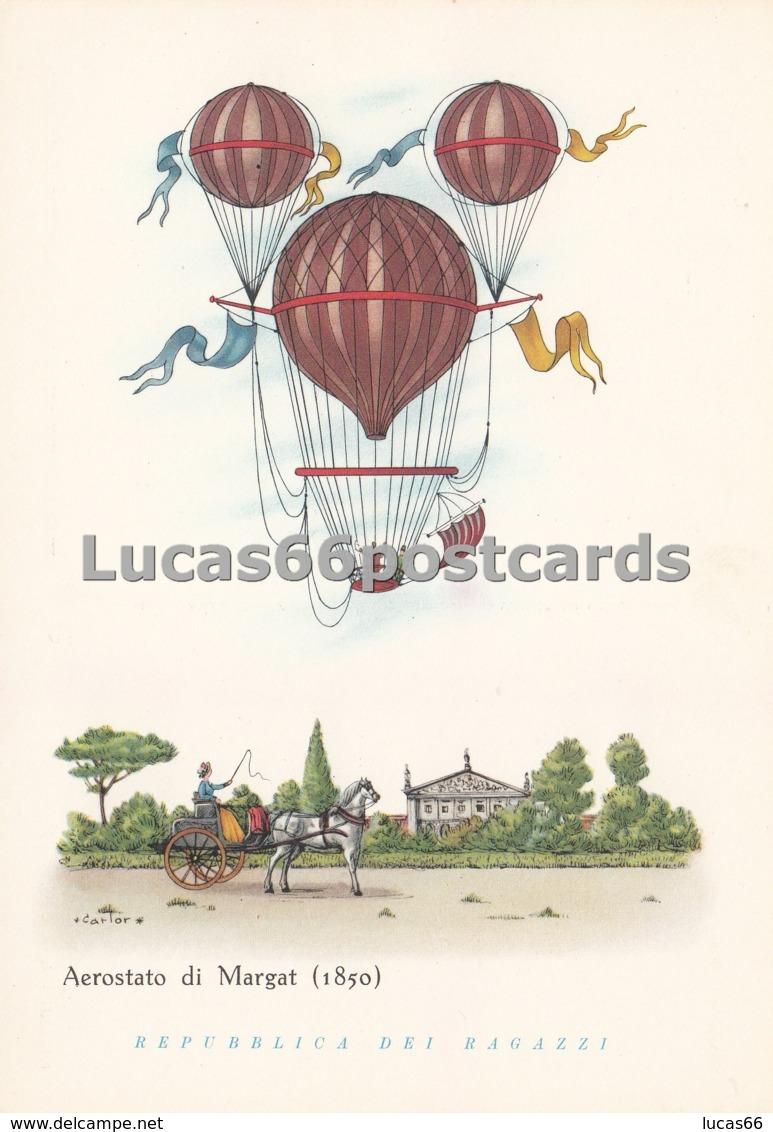 Aerostati - Aerostato Di Margat 1850 - Cartoline
