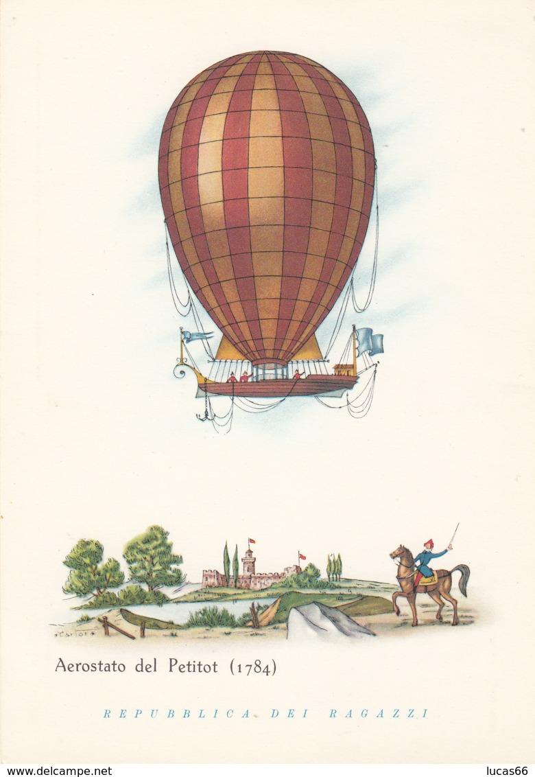 Aerostati - Aerostato Del Petitot 1784 - Cartoline