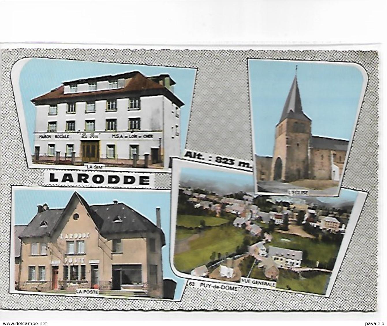 63 - LARODDE - Multi-vues Ed Sully 405 - Autres Communes