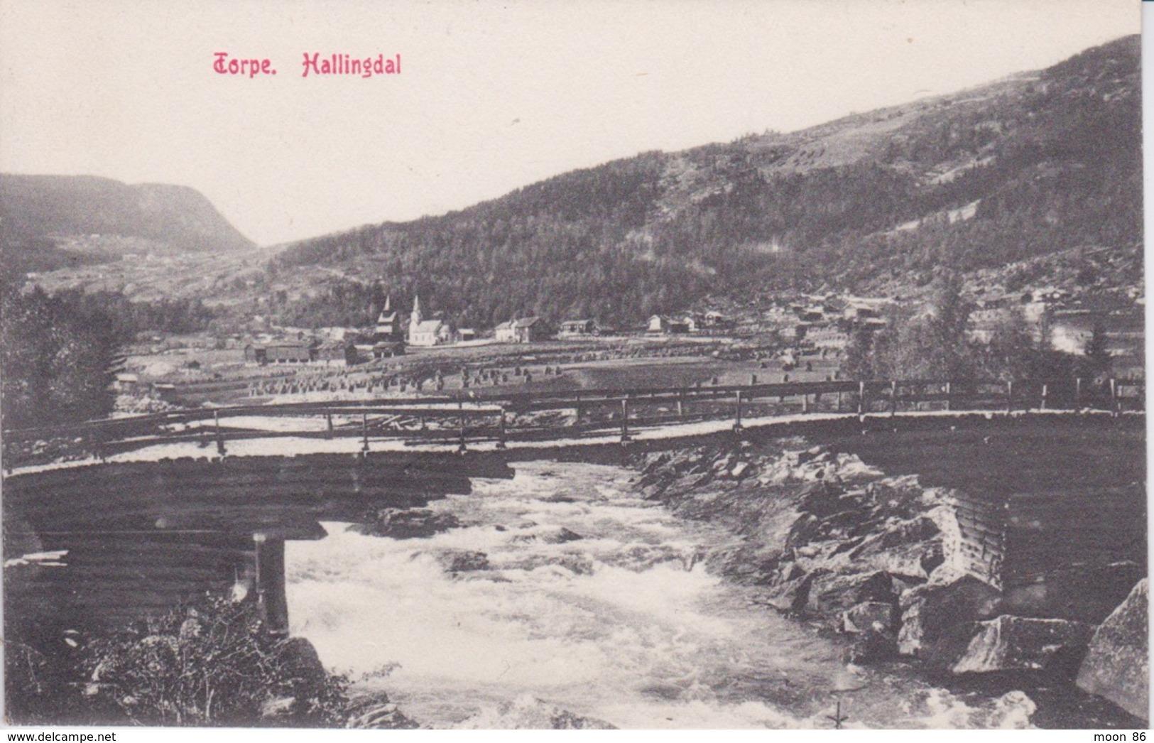 NORVEGE - NORDLAND NORWAY - HALLINGDAL  - DTORPE - Norwegen