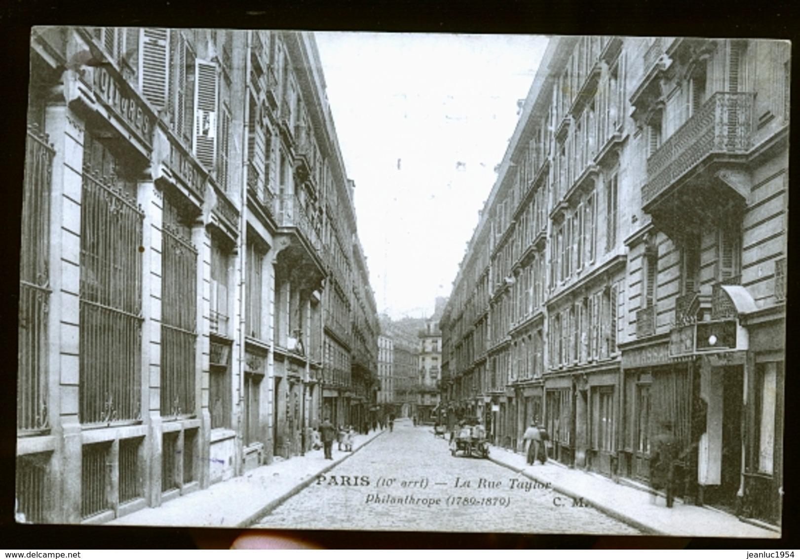 PARIS TAYLOR            NOUVEAUTE - Distrito: 10