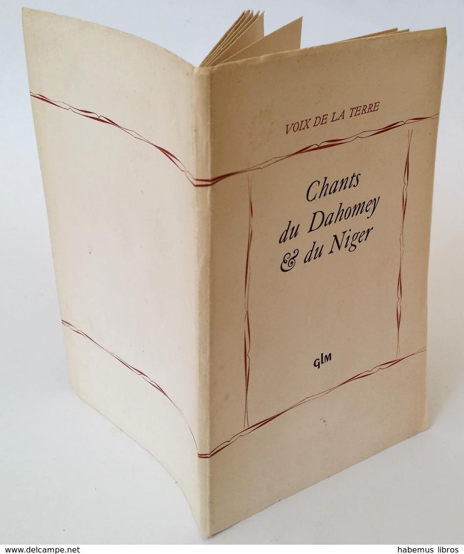 Chants Du Dahomey Et Du Niger / Paul Mercier (trad.) ; Jean Rouch (trad.). - Paris : GLM, 1950 - Poésie