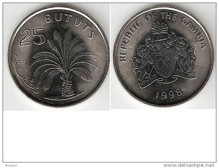 Gambia 25 Bututs 1998 Km 57  Unc !!!! - Gambia