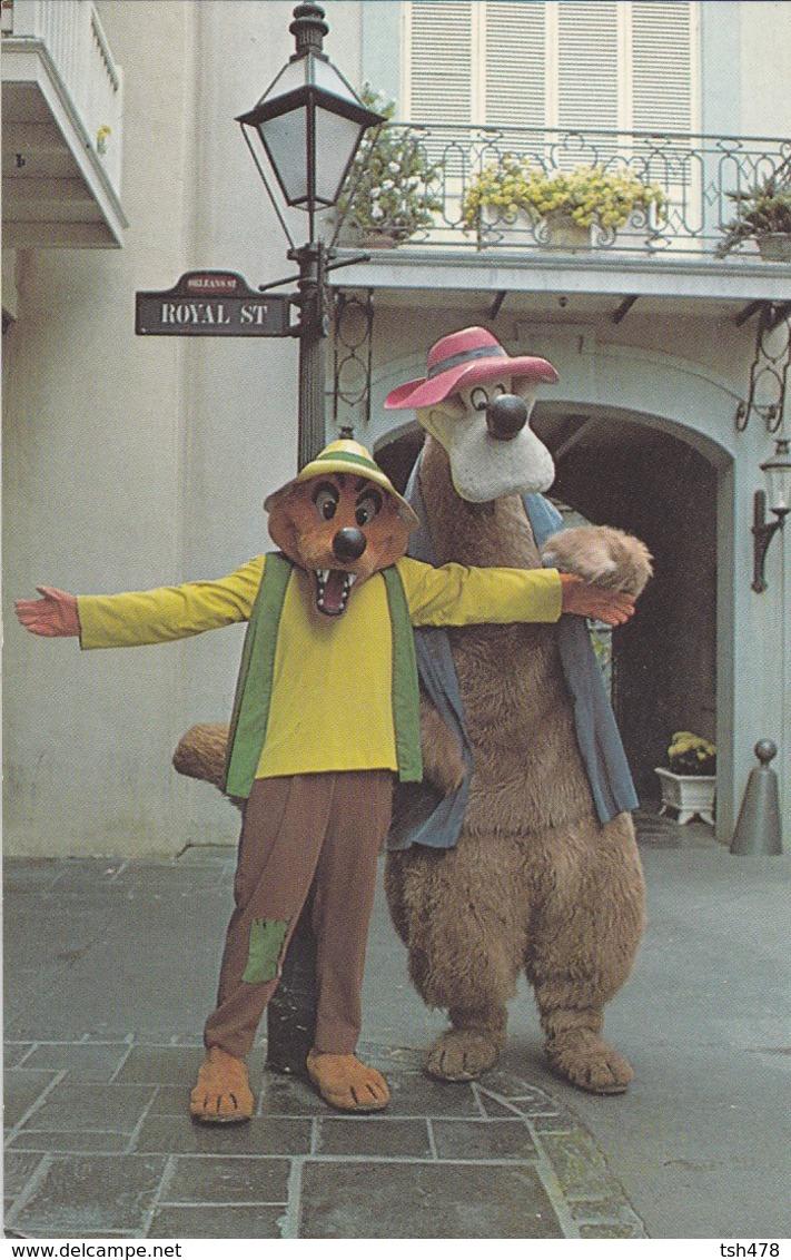 DISNEYLAND---brer Bear And Brer Fox--voir 2 Scans - Disneyland