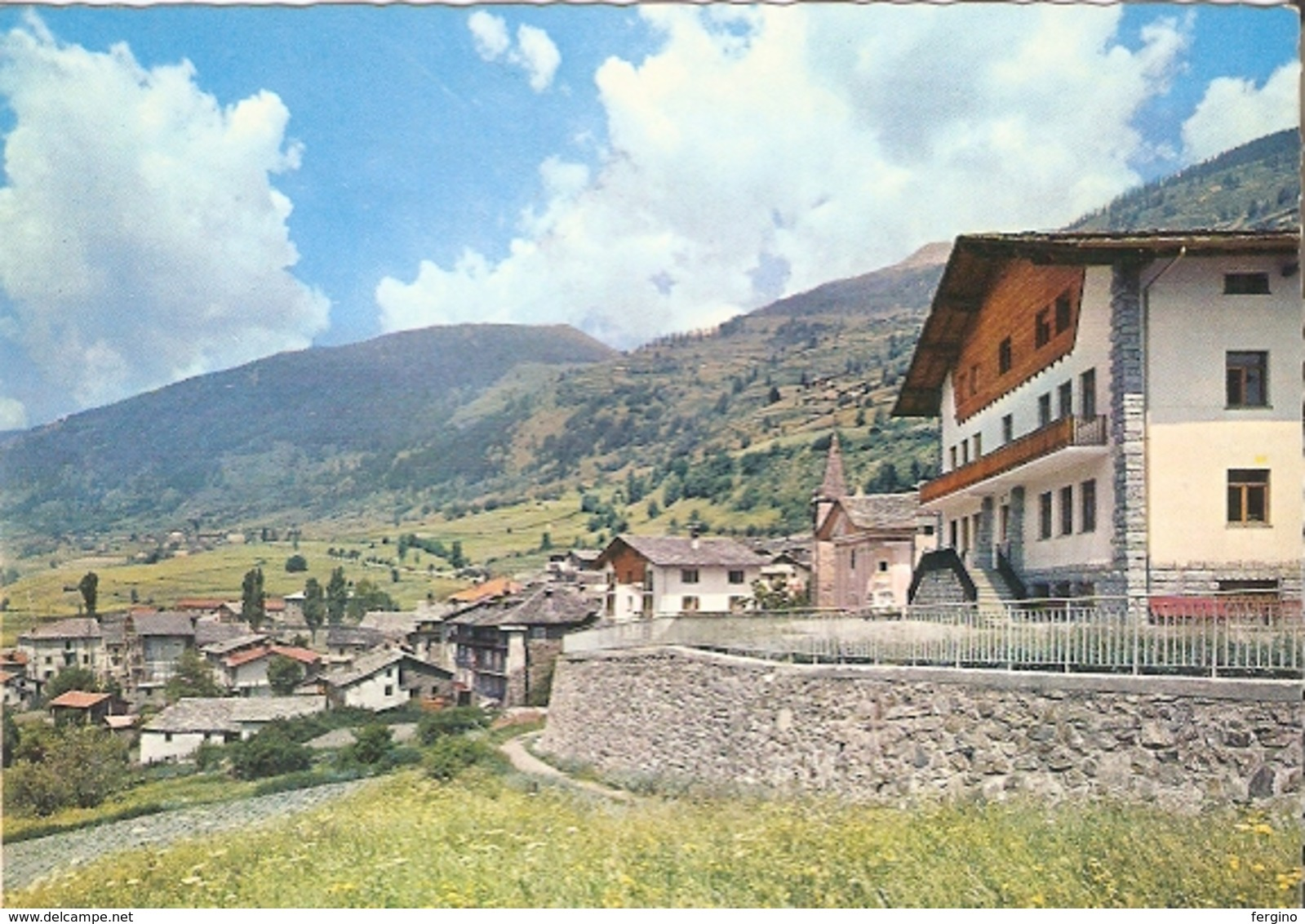 75/FG/18 - AOSTA - ETROUBLES: Panorama - Italia