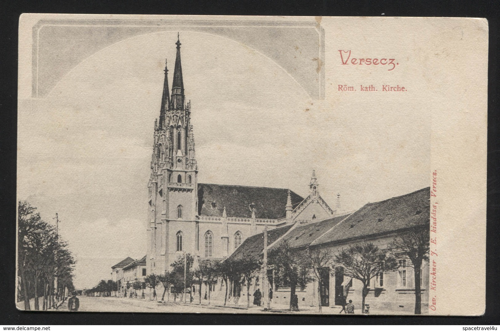 AUSTRO-HUNGARIAN (Now Serbia,Vojvodina) VRŠAC (hungarian-Versec) - Church - VINTAGE POSTCARD (APAT#36) - Postcards