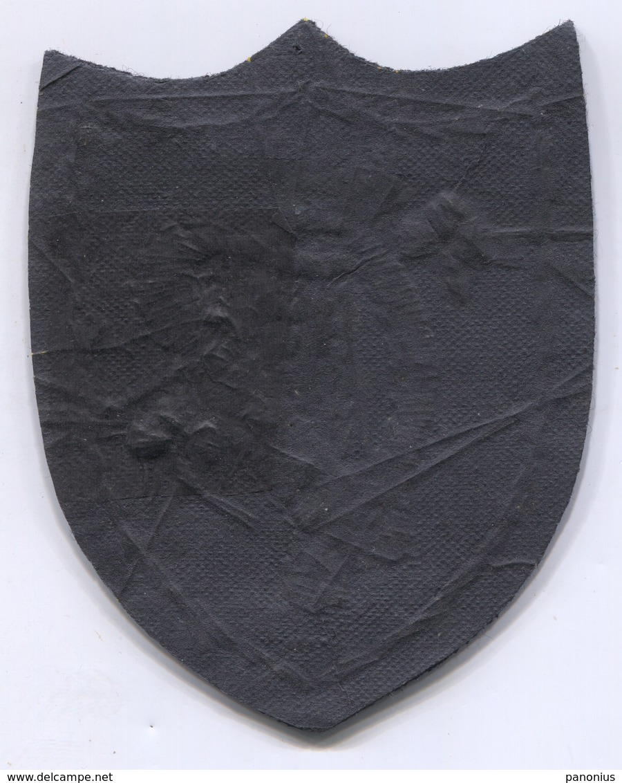 Ireland - Old Blazon, Coat Of Arms, Patch, D 10 X 7.5 Cm - Scudetti In Tela