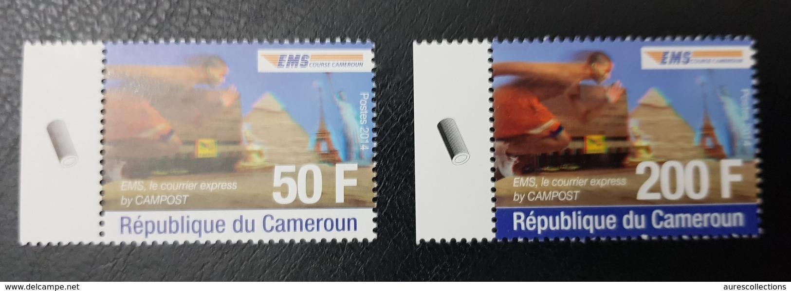 CAMEROUN CAMEROON 2014 EMS EXPRESS MAIL SERVICE - MNH ** - Cameroun (1960-...)