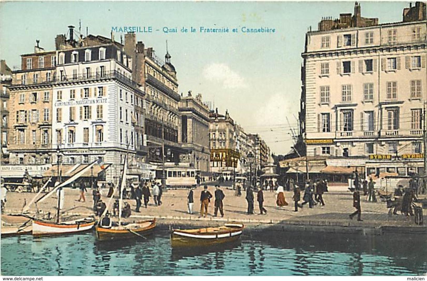"""-ref-A948- Bouches Du Rhone - Marseille - Publicite Huile D Olive  """" La Fleur D Olivier """" - """" La Jarre """" - - Marseille"""
